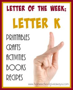 Over 70 Resources To Help You Teach The Letter K Activities Crafts