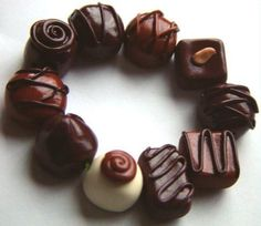 Chocolate Candy Bracelet
