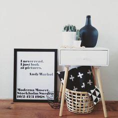 #kwantum repin: Scuba stof Sebas > https://www.kwantum.nl/hobby-vrije-tijd/stoffen/hobby-vrije-tijd-stoffen-scuba-stof-sebas-zwart-0412184 en mand Bamboe > https://www.kwantum.nl/wonen/decoratieve-opbergers/manden/wonen-decoratieve-opbergers-manden-mand-bamboe-36-cm-0610091 @huisjevanmariel - Vanmorgen gewerkt! Nu tijd voor de kindjes even lekker naar buiten vitamientjes opdoen #andywarhol #actionnederland #kwantum_nederland #ikea #cactus #woonketting #zwartwitwonen #zwartwithout