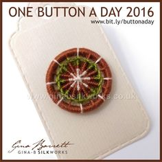 Day 220: Cogwheel #onebuttonaday by Gina Barrett