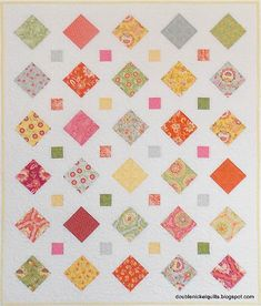 Turn One Charm Pack Into a Pretty Quilt - Quilting Digest