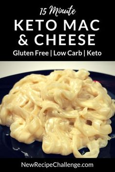 [ Looking for delicious & easy keto dinner recipes with chicken ground beef cream cheese and many more ingredients? The post Best Keto Noodles! appeared first on Keto Recipes. Keto Fat, Low Carb Keto, Keto Mac And Cheese, Mac Cheese, Cream Cheese Keto Recipes, Cheese Food, Macaroni Cheese, Cauliflowers, Side Dishes