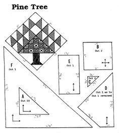 tree quilt block | More Information on Grandma'sAttic