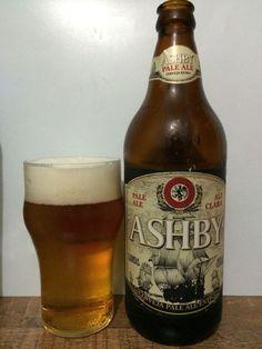 Cerveja Ashby Pale Ale Extra, estilo American Pale Ale, produzida por Cervejaria Ashby, Brasil. 5.1% ABV de álcool.