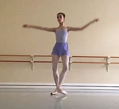 Maria Khoreva of the Vaganova Ballet Academy (@marachok on Instagram)