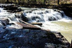 Rick's Hiking Blog: Grapevine Shelter, Blue Hole, and Green Grotto Falls, Arkansas Ozarks north of Hector