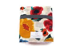 Limited Edition Fall Floral Travel Changing Pad - Baby Changing Pad - Waterproof Changing Pad - Baby Accessories