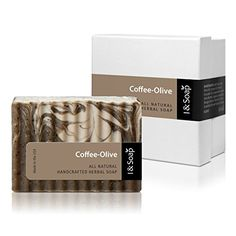 I  SOAP CoffeeOlive Soap  100 Natural  Organic Materials  Handcrafted Herbal Soap  Gentle and Effective Facial Hand and Body Cleansing Soap Bars  Best Natural Skin Care for Acne Skin or Oily Skin  Organic French Roast Ground Coffee  Deeply Moisturizing Soft Soap  No Harmful or Irritating Chemicals  Made in USA  100 Satisfaction GUARANTEED CoffeeOlive >>> Check out this great product.