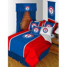 Texas Rangers Queen Comforter - too much?? Nahh :)