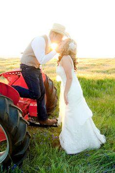 A DIY Vintage Country Wedding