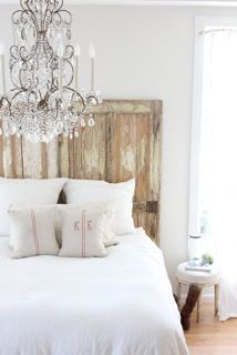 Love the idea for a headboard