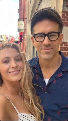 Blake And Ryan, Blake Lively Ryan Reynolds, Energy Pictures, Tan Sneakers, Glenn Close, Restaurant Signs, Summer Dates, J Crew Dress, Meryl Streep