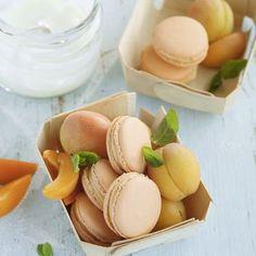 Aprikosen-Joghurt-Macarons Rezept | Küchengötter