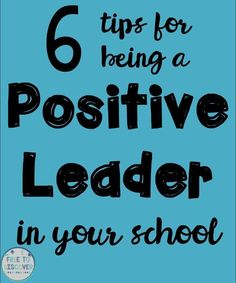 This post contains some reminders about how you can become a positive leader this year in your own school. Regardless of whether you're an administrator, curriculum coordinator, team leader or classroom teacher, you can be a leader among your peers with Leader In Me, Team Leader, A Team, Being A Leader, Teacher Morale, Staff Morale, Student Leadership, Instructional Coaching, Educational Leadership