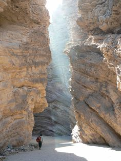 'The Devil's Throat,' a famous rock formation in El Cayafate, Argentina