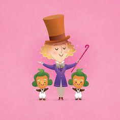 Willy Wonka By Jerrod Maruyama