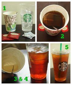 borrowed heaven: Copycat Starbucks Shaken Black Iced Tea