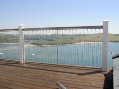 Rope balcony railing