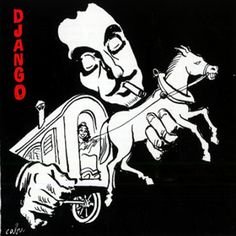 Cabu 2000 Django Reinhardt: Masters of Jazz (Cabu Collection) [Média 7 (Musisoft) R2CD 8018 (3356579580182)] #albumcover #portrait