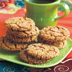 Molasses-Spice Crinkles | For centuries Southerners have treasured their jars of molasses—the cooked-down sugar cane mixture that is thick, brown, sticky and sharp with tangy flavor. From the hills of Tennessee to the plains of Georgia, the syrup was a table condiment for drizzling on biscuits and pancakes, or stirring into desserts. Still a treat today, the strong, sweet flavor of molasses balances well with a team of spices in these soft, chewy cookies crusted with sugar.