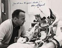 Frank Borman and Alan Shepard