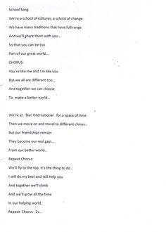 School Song