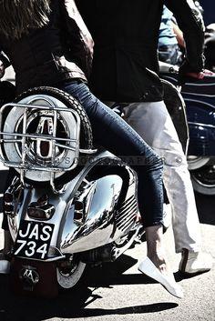Brighton Mod Weekend 2014 | Lambretta, Vespa, Scooter