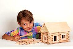 Dřevěná stavebnice domeček srub
