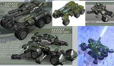 halo vehicles | Halo Mega Bloks UNSC Cobra Halo Wars Set Announced at Toy Fair 2013 ...