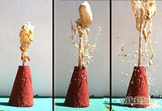 Make a Soda Bottle Volcano Step 11Bullet1.jpg