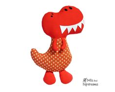 Big Boy Dinosaur Sewing Pattern