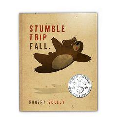 STUMBLE TRIP FALL - Children's Book on Etsy, $7.99