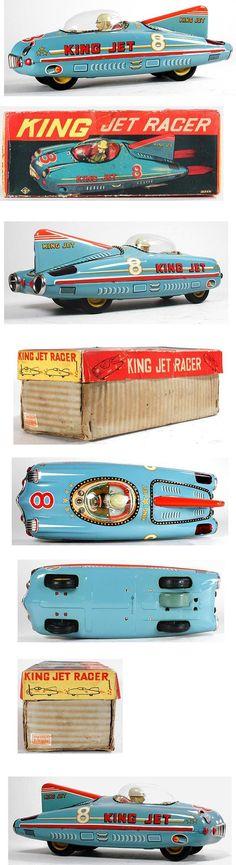 1954 Taniguchi Shoten, King Jet Racer in Original Box