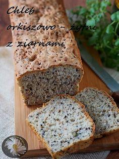 Orkiszowo-żytni z ziarnami, drożdże Kfc, Empanadas, Cooking Time, Banana Bread, Food And Drink, Menu, Baking, Desserts, Food