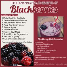 benefits of blackberries - Google Search