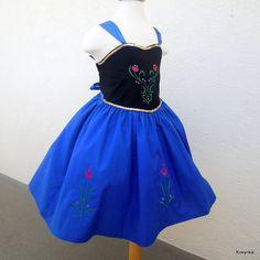 Frozen Anna dress  inspired by Disney frozen  Girl by Kosynka, $75.00