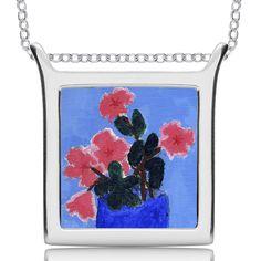 Children's art custom jewelry