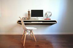 MINIMAL WALL DESK for the Modern Home by Orange22 Design Lab , via Behance