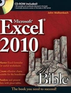 Access 2007 vba bible pdf download programming ebooks it ebooks excel 2010 bible sample chapter a comprehensive reference to the newest version of the worlds most popular spreadsheet application excel 2010 fandeluxe Choice Image