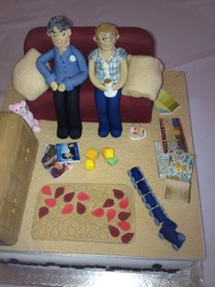 Another view of the cake