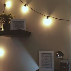 string lights and home alone quotes <3