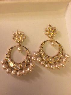 Gorgeous Diamond Polki Earrings