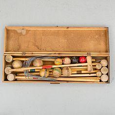 KROCKETSPEL, 1920-/30-tal. | Bukowskis Market