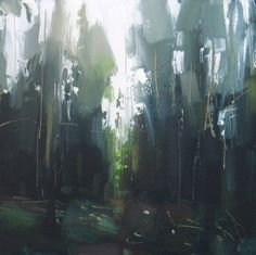 Ford Woods (20 x 20 cm) oil on board