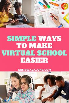 How to Make Virtual School Easier - Come Wag Along Affirmations For Kids, Affirmation Cards, Learning Spaces, Significant Other, Google Classroom, Going Crazy, School Days, Free Printables, Stress