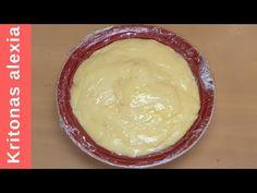 Φτιάχνουμε κρέμα ζαχαροπλαστικής! | kritonas alexia - YouTube