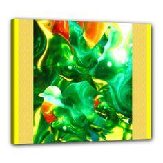 "j Patch Canvas 24"" x 20"" (Framed)"