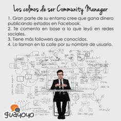 Los colmos del Community Manager