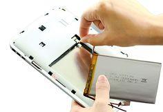 Batería para tablet (3,000mAh) ¿Tu tablet dura menos de 1 hora prendida? ¿Cuando desconectas el cargador tu Tablet se apaga?  Si respondiste SÍ a cualquiera de éstas preguntas, ¡Prueba instalando una Batería NUEVA  www.mrtableta.com