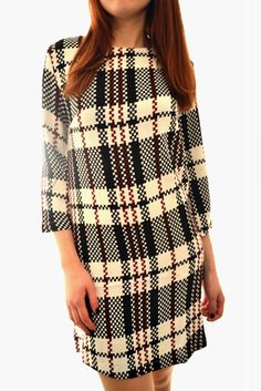 Online Women's Clothing and Celebrity Inspired Dresses Tartan, Knitwear, Fashion Looks, Jumpsuit, Clothes For Women, Blouse, Mini, Check, Clothing